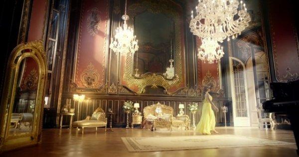 Sala lustrzana na zamku w Pszczynie